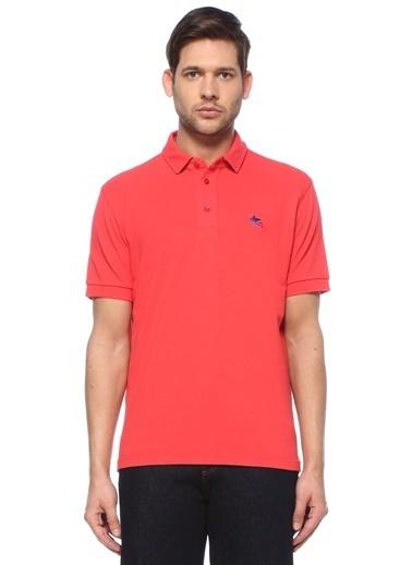 Etro Etro  Logolu Polo Yaka T-shirt 101617988 Kırmızı
